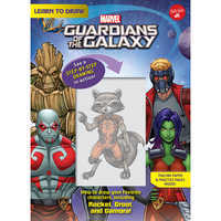Image of Learn to Draw Marvel's Guardians of the Galaxy # 1