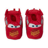 Image of Lightning McQueen Plush Slippers for Kids # 3