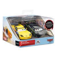Image of Jeff Gorvette & Lewis Hamilton Pull 'N' Race Die Cast Set - Cars # 3