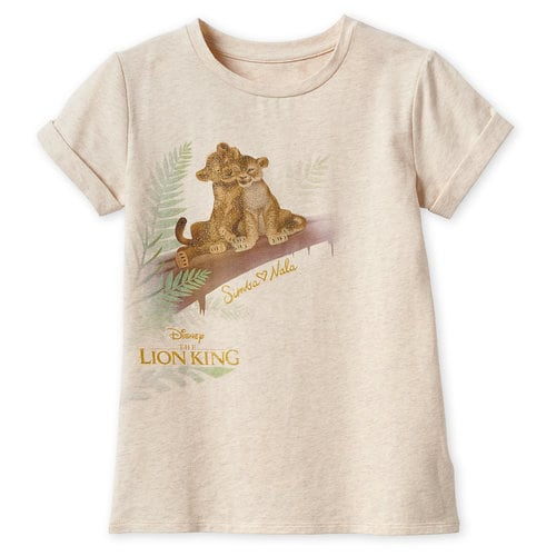 The Lion King Fashion T-Shirt for Girls - 2019 Film