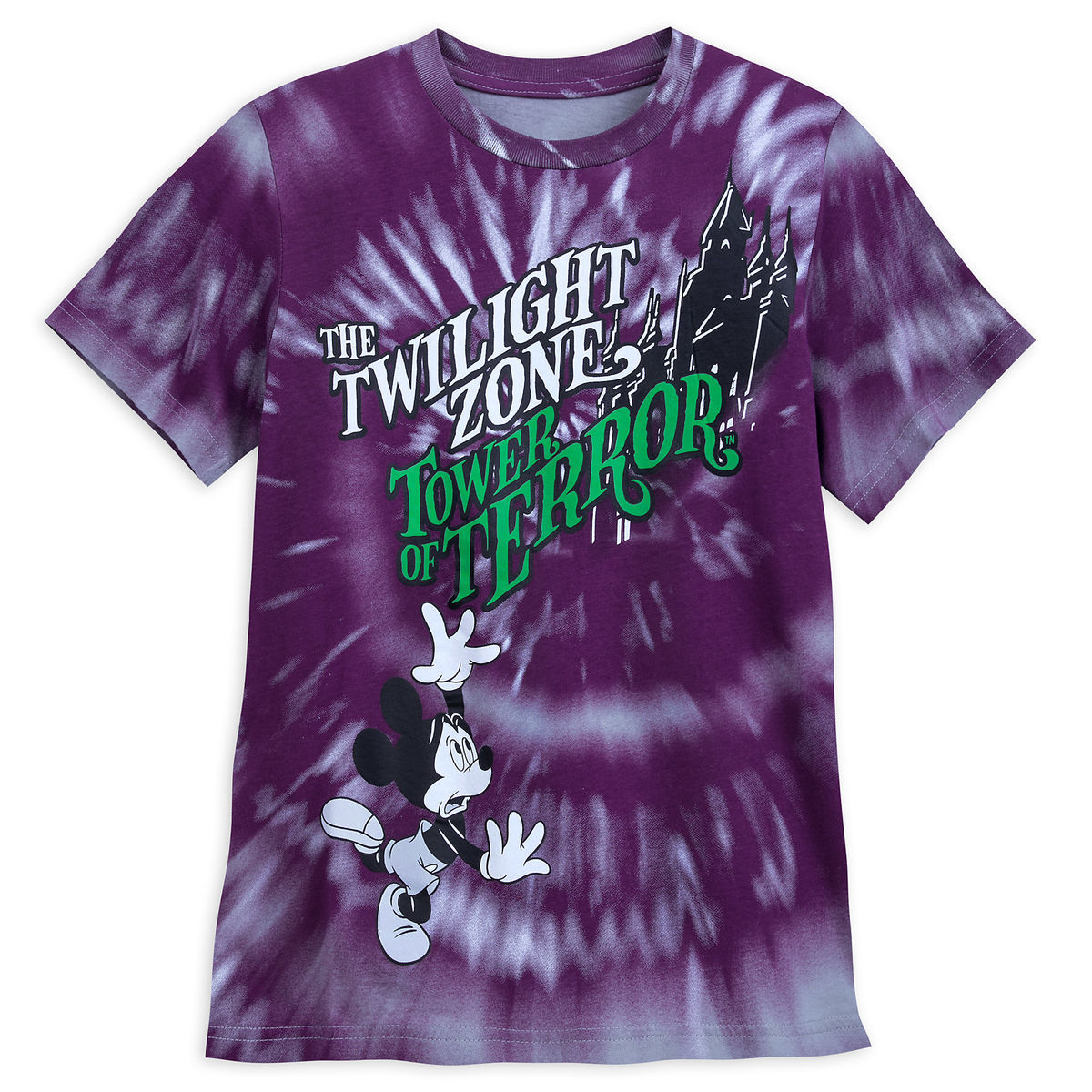 Product Image Of Mickey Mouse The Twilight Zone Tower Terror T Shirt For