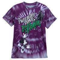 Image of Mickey Mouse The Twilight Zone: Tower of Terror T-Shirt for Kids # 1