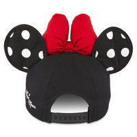 Image of Minnie Mouse Polka Dot Ears Baseball Cap for Adults # 2
