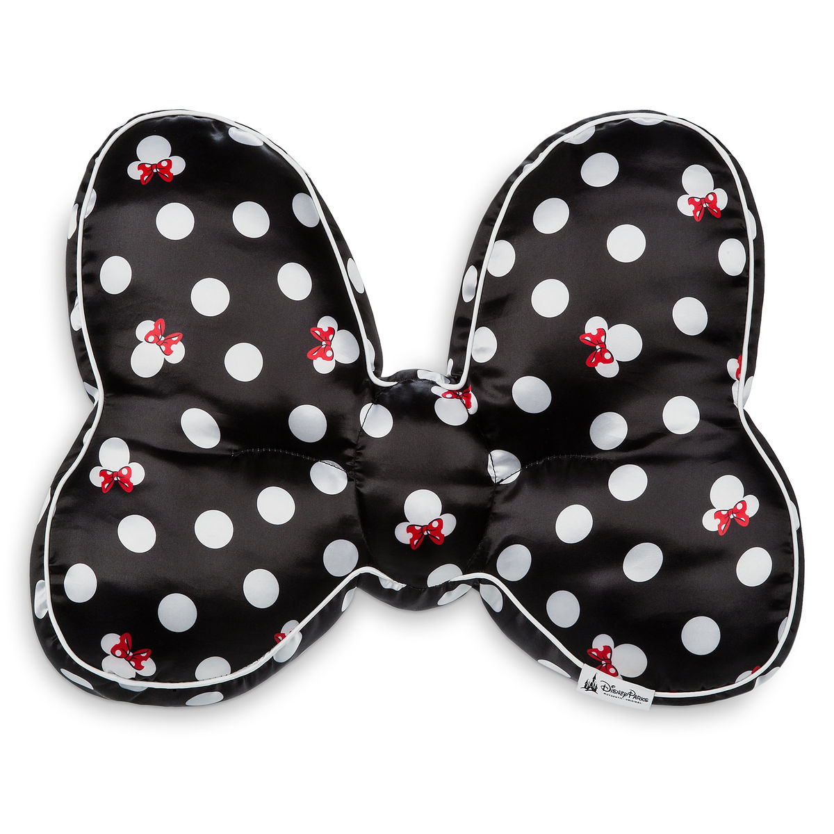 1965151147e Product Image of Minnie Mouse Bow Throw Pillow   1