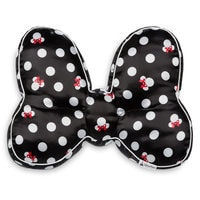 Image of Minnie Mouse Bow Throw Pillow # 1