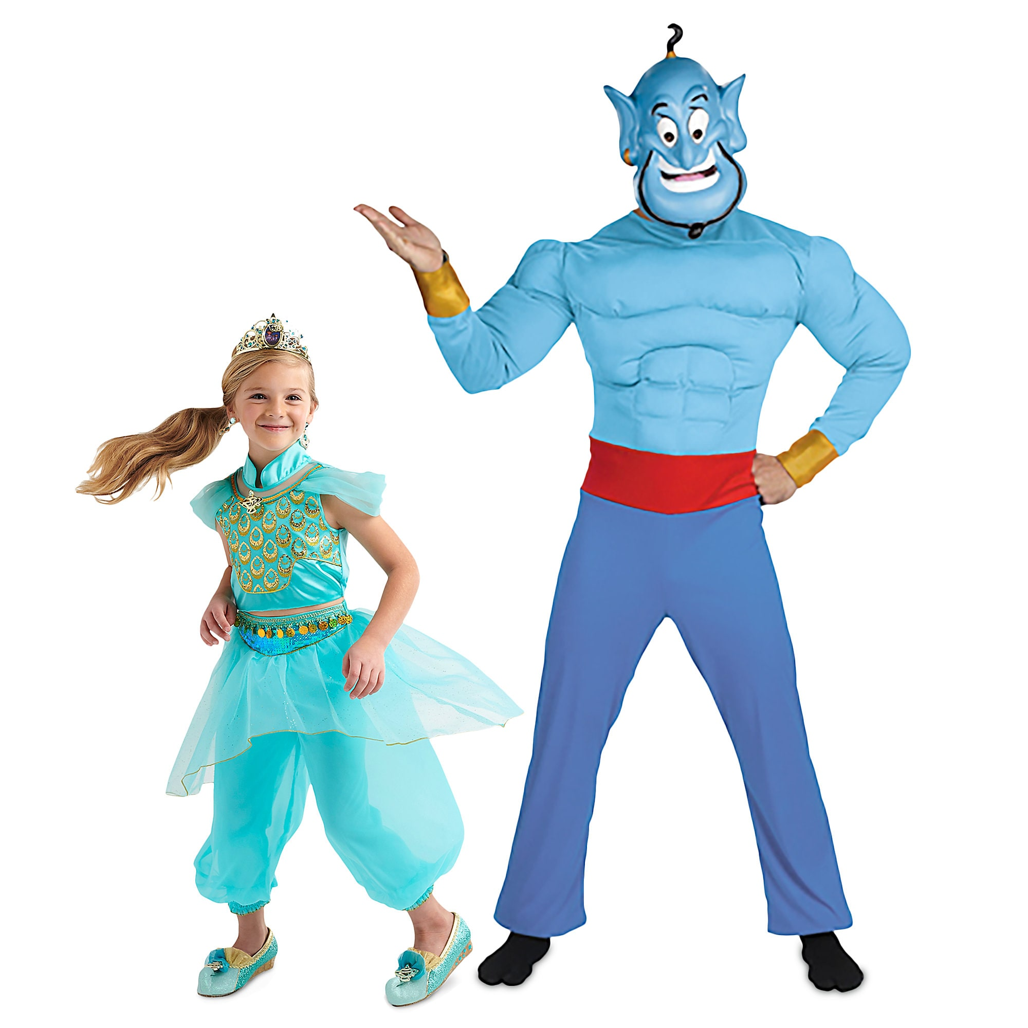 Jasmine and Genie Costume Collection for Family