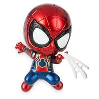 Image of Iron Spider Cosbaby Bobble-Head Figure by Hot Toys - Marvel's Avengers: Infinity War # 1