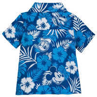 Image of Mickey Mouse and Friends Aloha Shirt for Baby - Disney Hawaii # 3