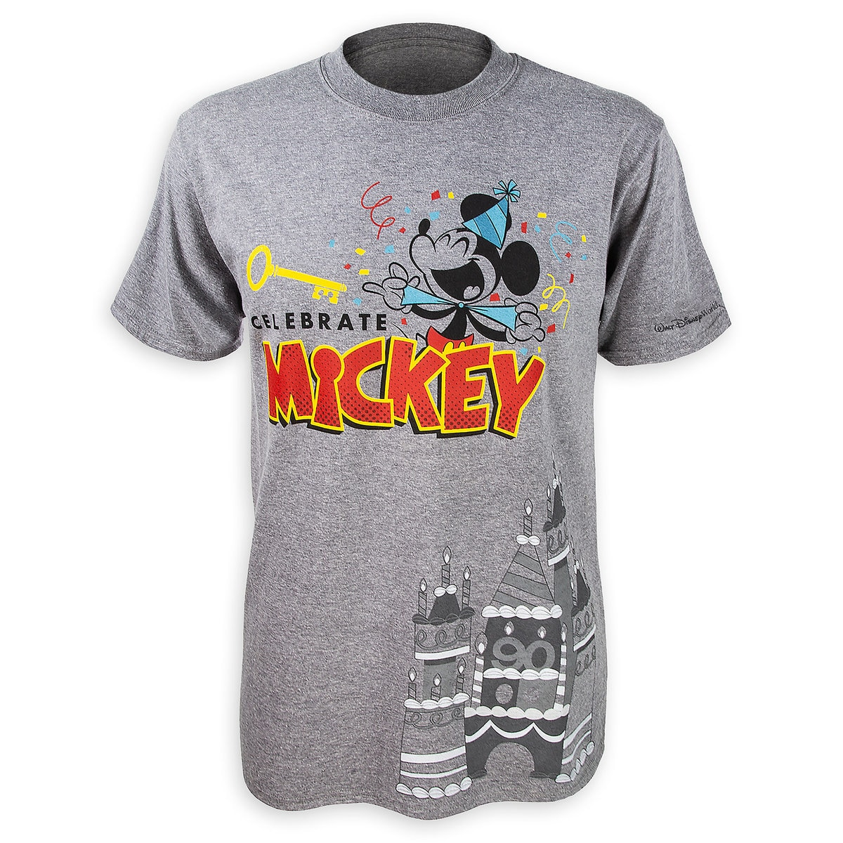 21c9ce339 Mickey Mouse ''Celebrate'' T-Shirt for Men - Walt Disney World ...