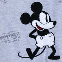 Image of Mickey Mouse Plane Crazy Fleece Sweatshirt for Adults # 6