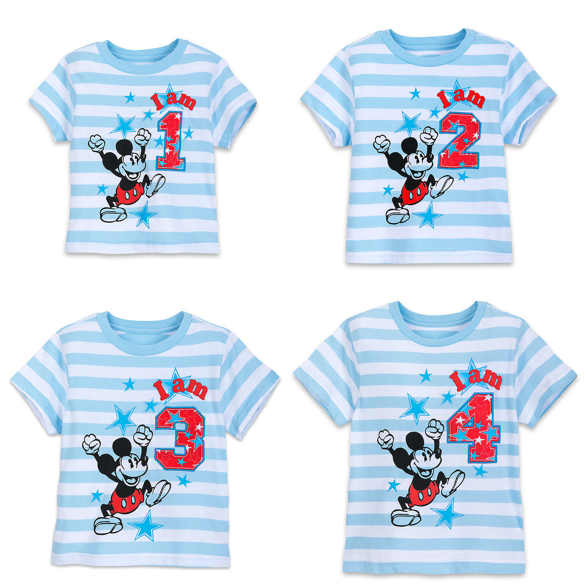 Product Image Of Mickey Mouse Birthday Tee For Boys 1