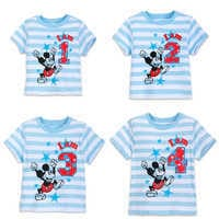 Image of Mickey Mouse Birthday Tee for Boys # 1