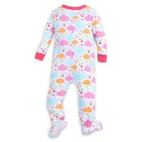 Winnie the Pooh and Piglet Footed Stretchie Sleeper for Baby