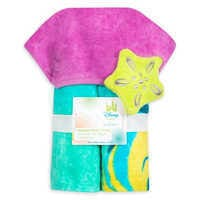 Image of The Little Mermaid Hooded Swim Towel for Baby # 3