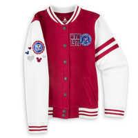 Image of Mickey Mouse Varsity Jacket - Walt Disney World - Girls # 1