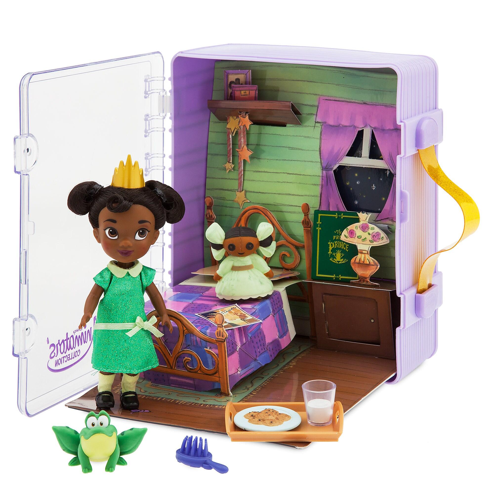 Disney Animators Collection Tiana Mini Doll Play Set Is