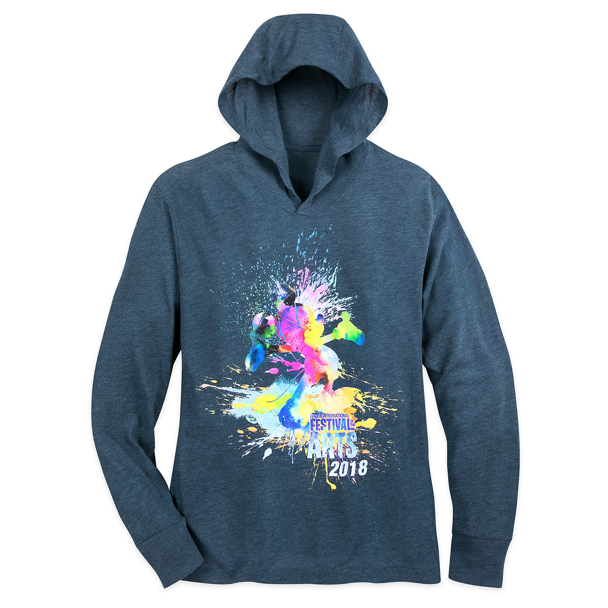Mickey Mouse Epcot International Festival of the Arts 2018 Hoodie for Adults