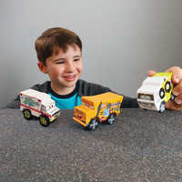 Image of Cars 3 Crazy Eights 3-Pack by KidKraft # 2