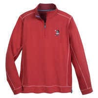Image of Mickey Mouse Pullover for Men by Tommy Bahama - Red # 1
