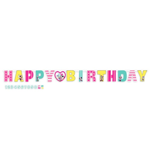 Minnie Mouse and Daisy Duck Birthday Banner