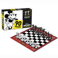 Image of Mickey Mouse 90th Anniversary Chess Set # 1