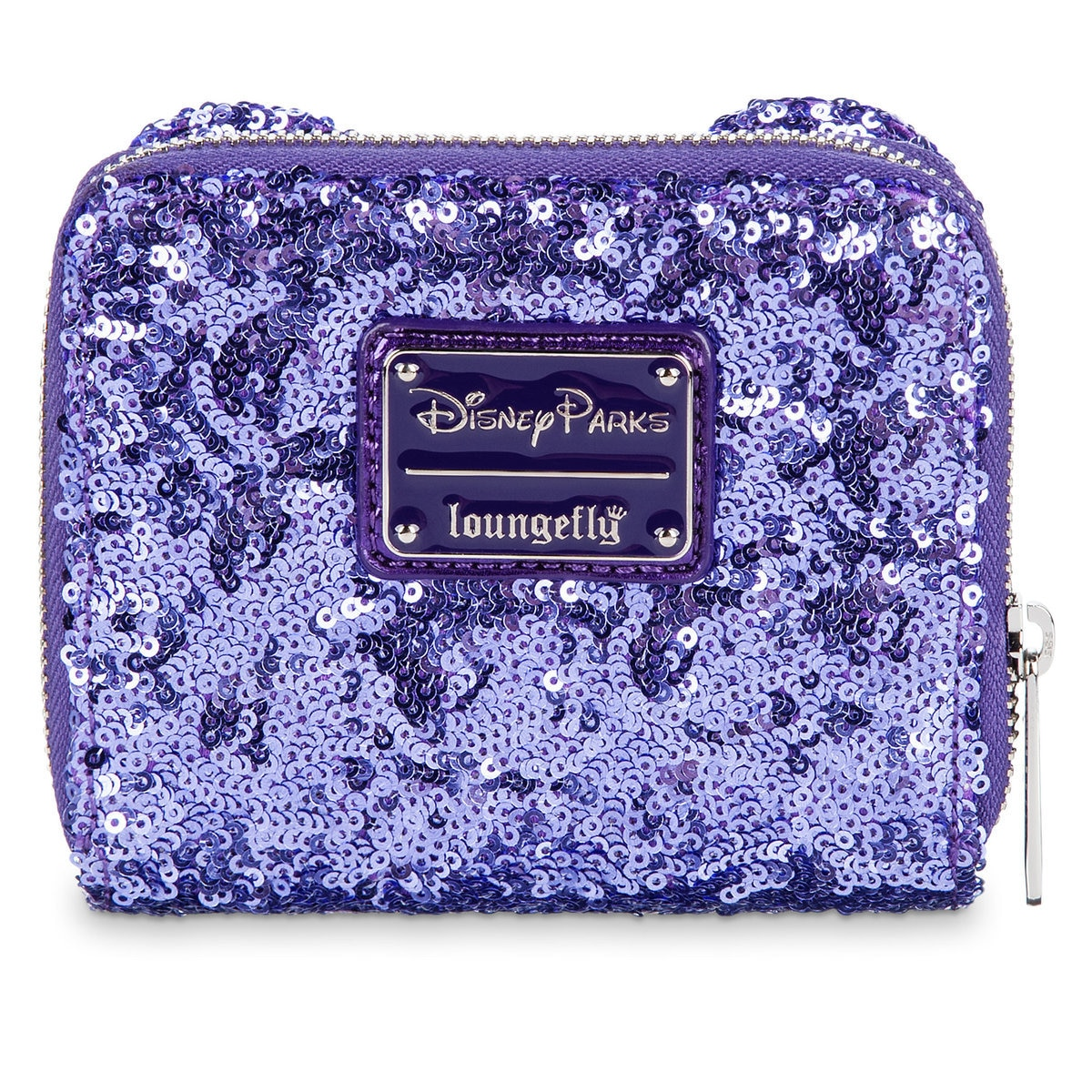 59f128e8b18 Product Image of Minnie Mouse Potion Purple Sequined Wallet by Loungefly   1