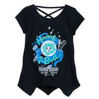 Image of Haunted Mansion ''Having a Ball'' T-Shirt for Girls # 1
