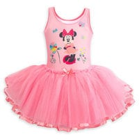 Image of Minnie Mouse Deluxe Leotard with Tutu for Girls # 1
