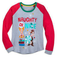 Image of Chip 'n Dale Holiday PJ Set for Women # 3