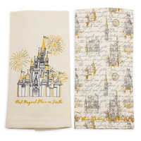 Image of Fantasyland Castle Dish Towel Set - Walt Disney World # 2