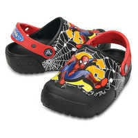 Image of Spider-Man Crocs™ Light-Up Clogs for Boys # 2