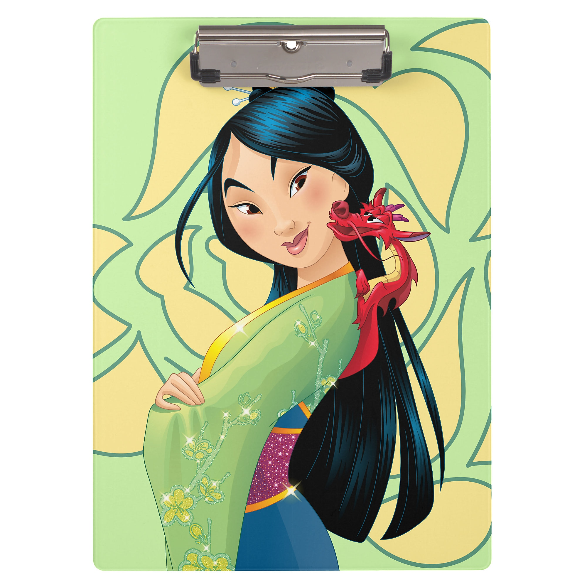 Mulan and Mushu Clipboard - Customizable