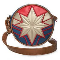 Image of Marvel's Captain Marvel Circle Crossbody Bag for Tweens # 1