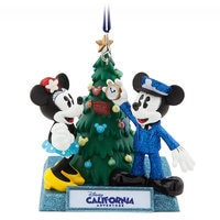 Mickey and Minnie Mouse Holiday Ornament - Disney California Adventure