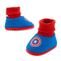 Image of Captain America Costume Shoes for Baby # 1