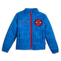 Image of Spider-Man Lightweight Quilted Jacket for Kids - Personalizable # 1