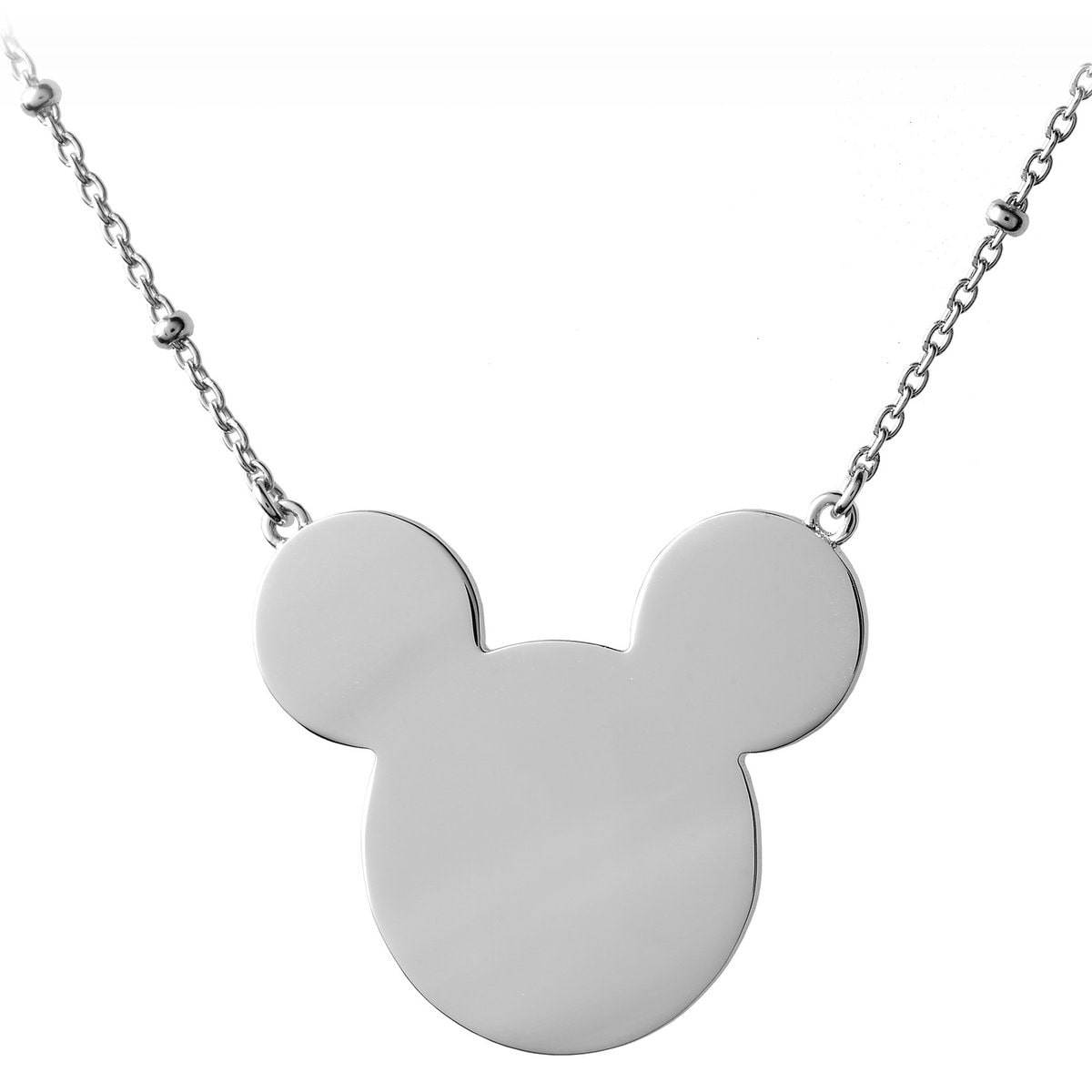 mickey mouse monogram necklace hook personalizable