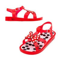 Image of Minnie Mouse Jelly Sandals for Girls # 1