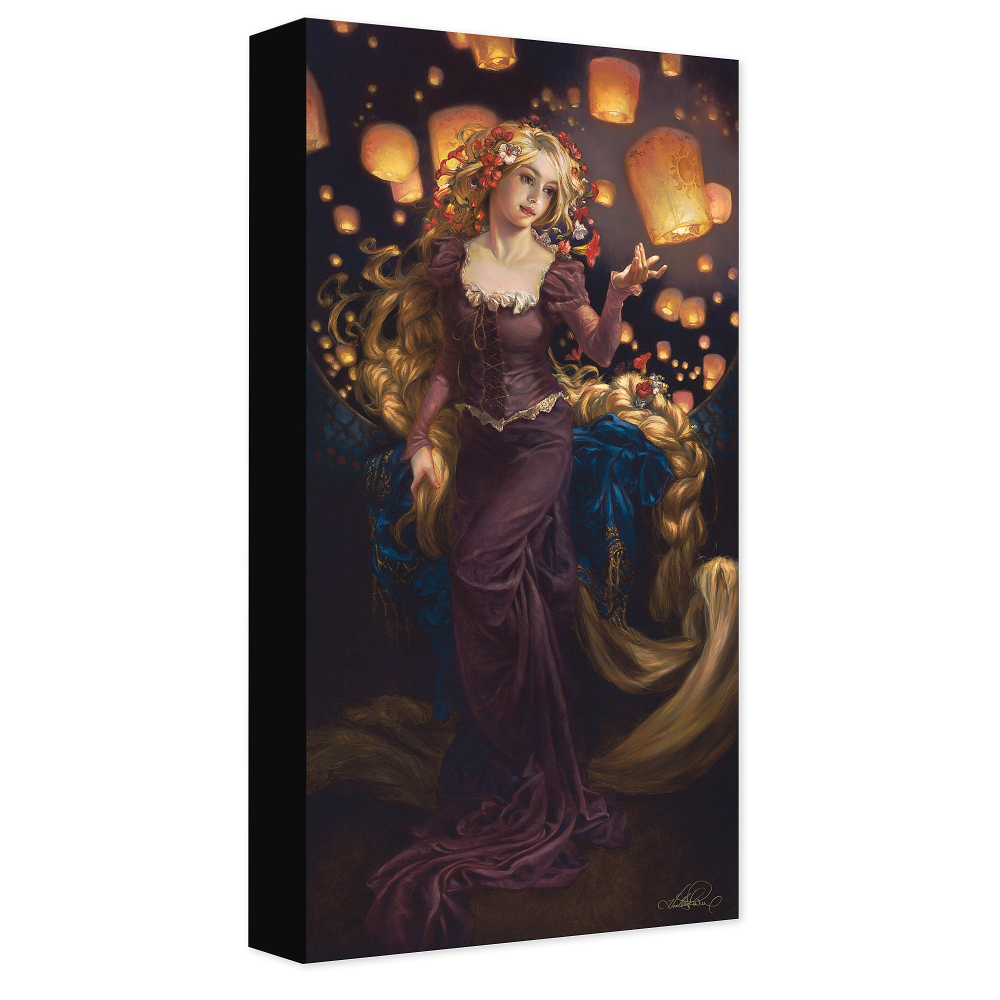 Rapunzel ''I See the Light'' Canvas Giclée on Canvas by Heather Theurer