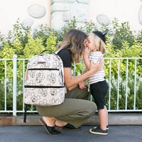 Image of Mickey and Minnie Mouse Axis Sketch Backpack - Petunia Pickle Bottom # 4