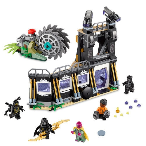 Lego Avengers Infinity War Ausmalbilder: Corvus Glaive Thresher Attack Playset By LEGO