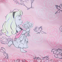 Image of Disney Animators' Collection Aurora Sleep Gown Set for Girls and Doll # 5