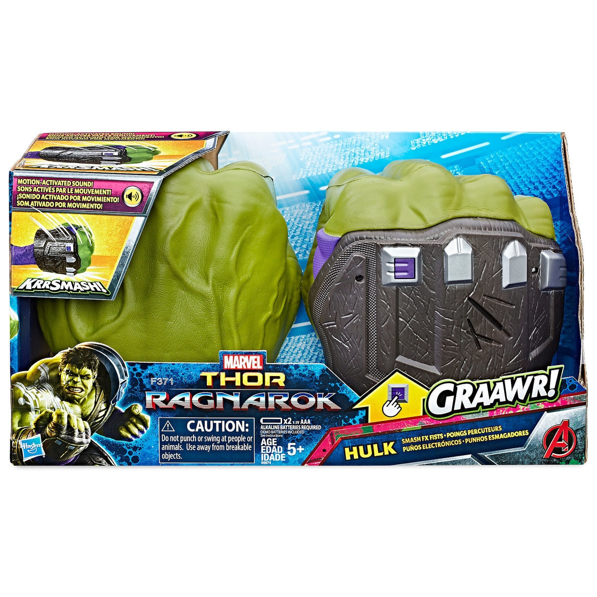 Hulk Smash FX Fists by Hasbro