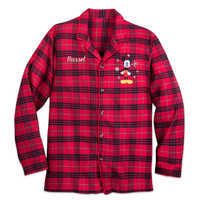 Image of Mickey Mouse Holiday Plaid PJ Set for Men - Personalizable # 5