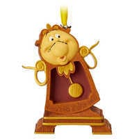 Image of Cogsworth Sketchbook Ornament - Beauty and the Beast # 1