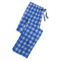 Image of Mickey Mouse Plaid Flannel Lounge Pants for Men # 1