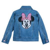 Image of Minnie Mouse Denim Jacket for Girls # 3