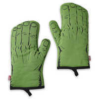 Image of Hulk Oven Mitt Set for Adults - Disney Eats # 1