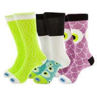 Image of Monsters, Inc. Sushi Sock Set for Adults # 1
