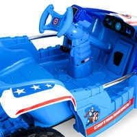 Image of Captain America Electric Ride-On Dune Buggy # 6
